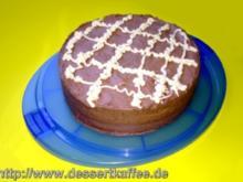 Schokoladen-Biskuit-Torte - Rezept