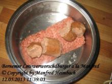 Burger – Bernemer Lewwerworschdburger a'la Manfred - Rezept