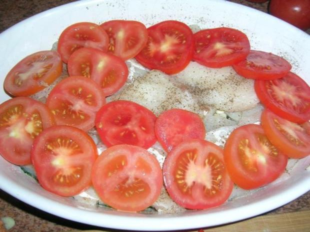 Kabeljau-Spinat-Tomaten-Auflauf - Rezept - Bild Nr. 3