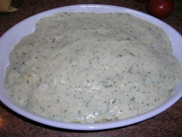 Kabeljau-Spinat-Tomaten-Auflauf - Rezept - Bild Nr. 5