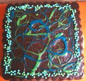 Schokoladen-Marzipan-Kuchen - Rezept