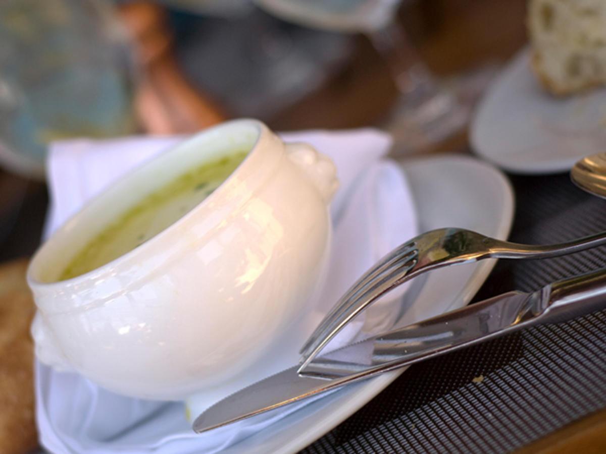 spargelcremesuppe aus resten vom spargelkochen rezept