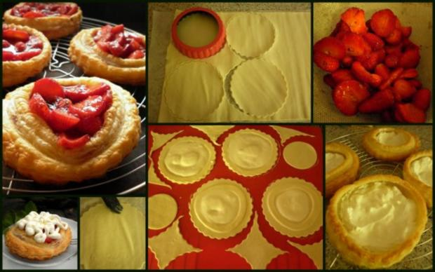 Erdbeertörtchen - Rezept - Bild Nr. 3