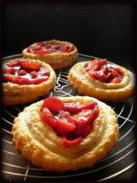 Rezept: Erdbeertörtchen