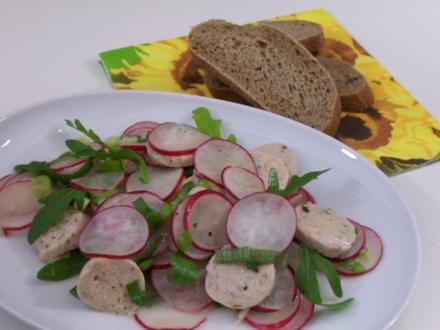 Leichter Wurstsalat - Rezept