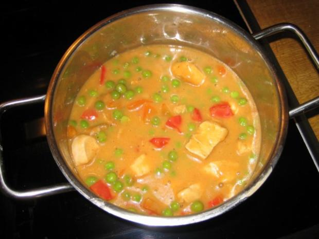 Putengulasch mit Paprika - Rezept