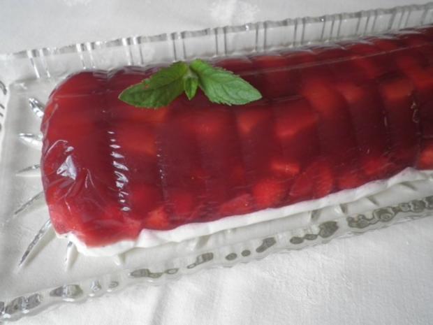 Fruchtige Rhabarber - Erdbeer - Terrine - Rezept - Bild Nr. 12