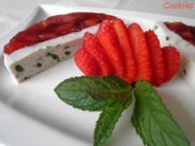 Fruchtige Rhabarber - Erdbeer - Terrine - Rezept