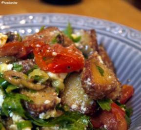 Panzanella mit warmen Tomaten - Rezept