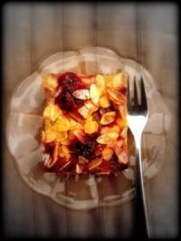 Rhabarber-Himbeer-Kuchen - Rezept