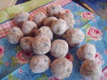 Feigen-Schokoladen-Fruchtkugeln - Rezept