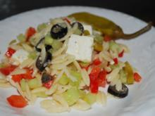 Griechischer Bauern-Nudelsalat - Rezept