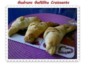 Rezept: Abendbrot: Gefüllte Croissants