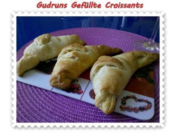 Abendbrot: Gefüllte Croissants - Rezept