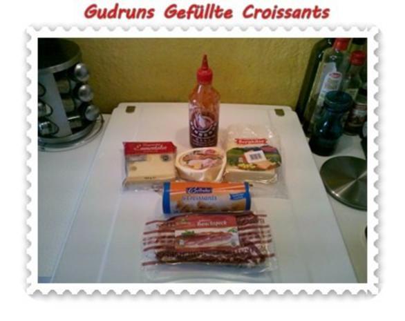 Abendbrot: Gefüllte Croissants - Rezept - Bild Nr. 2