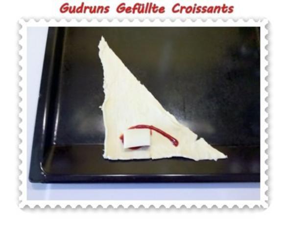 Abendbrot: Gefüllte Croissants - Rezept - Bild Nr. 3