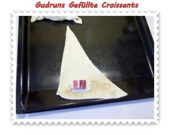 Abendbrot: Gefüllte Croissants - Rezept - Bild Nr. 4