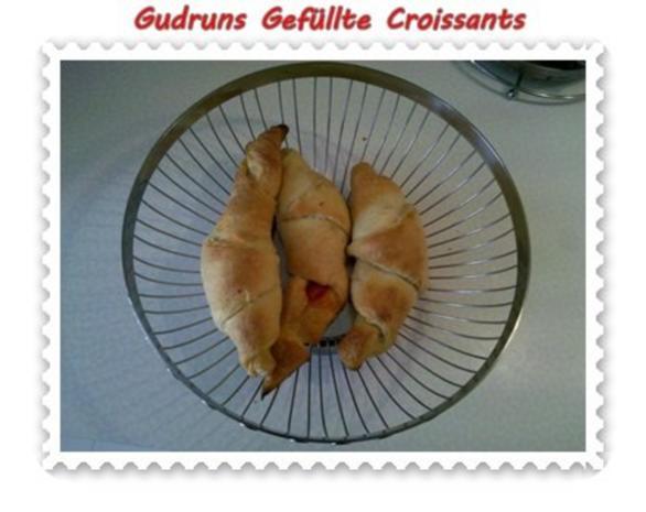 Abendbrot: Gefüllte Croissants - Rezept - Bild Nr. 7