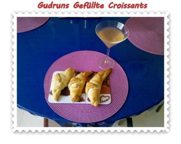 Abendbrot: Gefüllte Croissants - Rezept - Bild Nr. 8