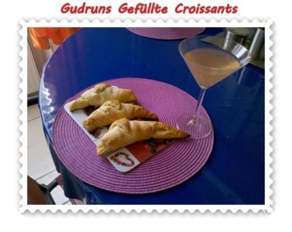 Abendbrot: Gefüllte Croissants - Rezept - Bild Nr. 9