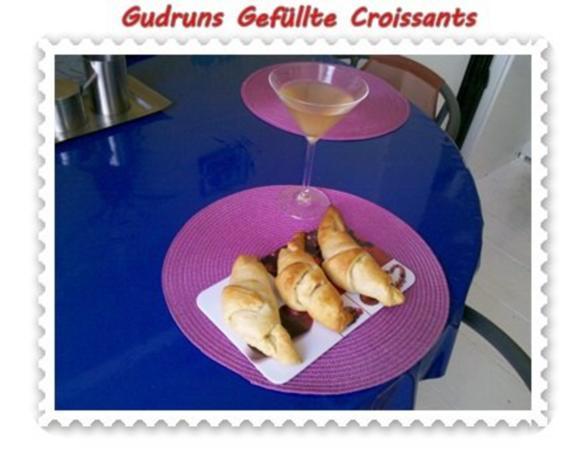 Abendbrot: Gefüllte Croissants - Rezept - Bild Nr. 10