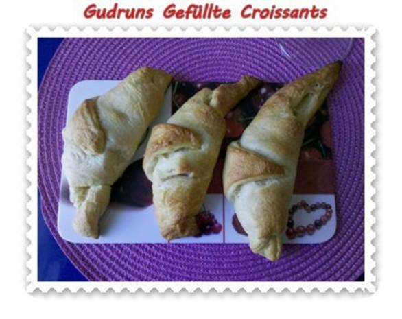 Abendbrot: Gefüllte Croissants - Rezept - Bild Nr. 11