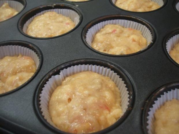 Backen: Rhabarber-Vanille-Muffins - Rezept - Bild Nr. 6