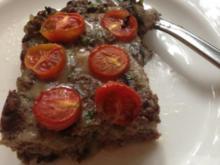 Aubergine-Hackfleisch Kuchen - Rezept
