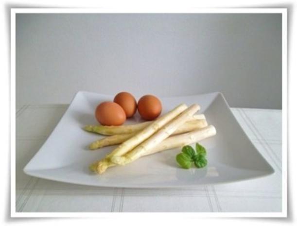 Spargel mit selbstgemachter Bozner Sauce und Kartoffelbällchen dazu. - Rezept - Bild Nr. 4