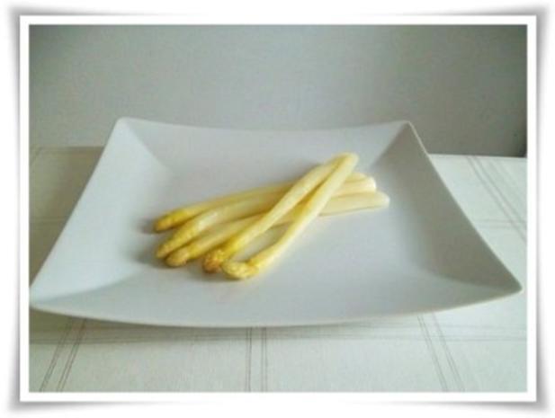 Spargel mit selbstgemachter Bozner Sauce und Kartoffelbällchen dazu. - Rezept - Bild Nr. 17