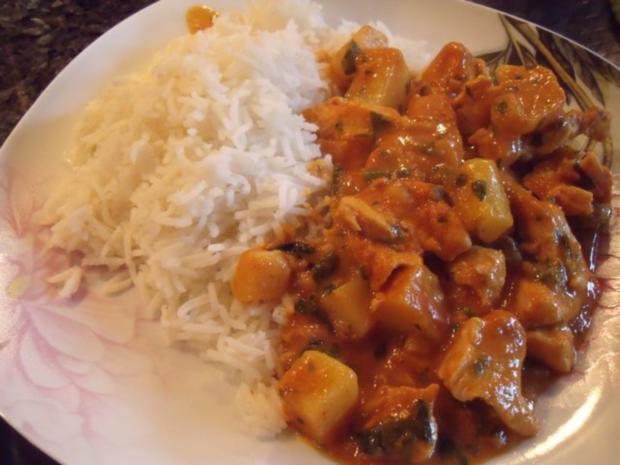 Thailändisches Massaman-Curry - Rezept