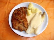 Kochen:Wiener Schnitzel mit Spargel und Sauce Hollandaise - Rezept