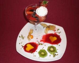 Prosecco-Gelee mit frischen Früchten - Rezept