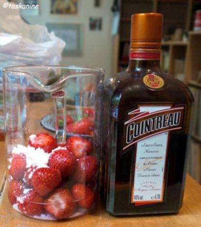 Erdbeeren und marokkanische Minze - Rezept - Bild Nr. 3