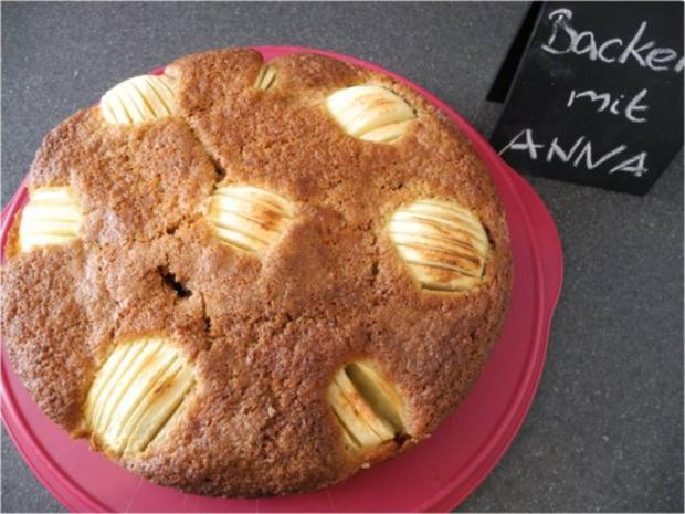 Apfel-Walnuss-Kuchen - Rezept