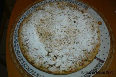 Rhabarberkuchen - Rezept