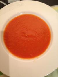 Ingwer-Tomaten Suppe - Rezept