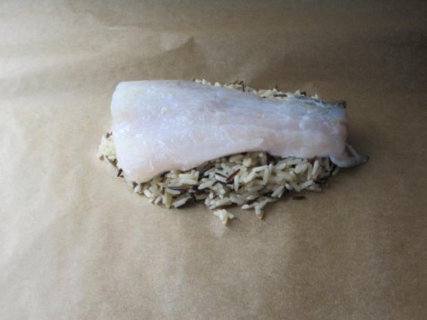 Zander auf Reis mit Gemüse - Rezept - Bild Nr. 3
