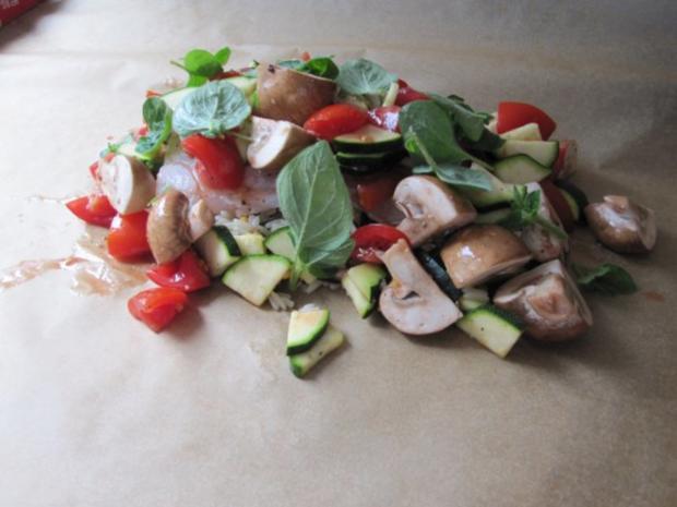 Zander auf Reis mit Gemüse - Rezept - Bild Nr. 5