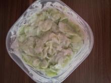 Gurken-Rahm-Salat - Rezept