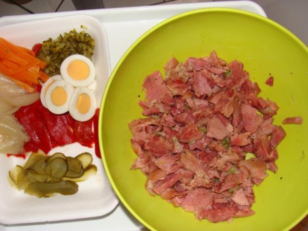 Fleisch : Premium Sülze aus der gepökelten Schweinehaxe - Rezept - Bild Nr. 3