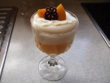 Pfirsich-Sekt-Dessert - Rezept