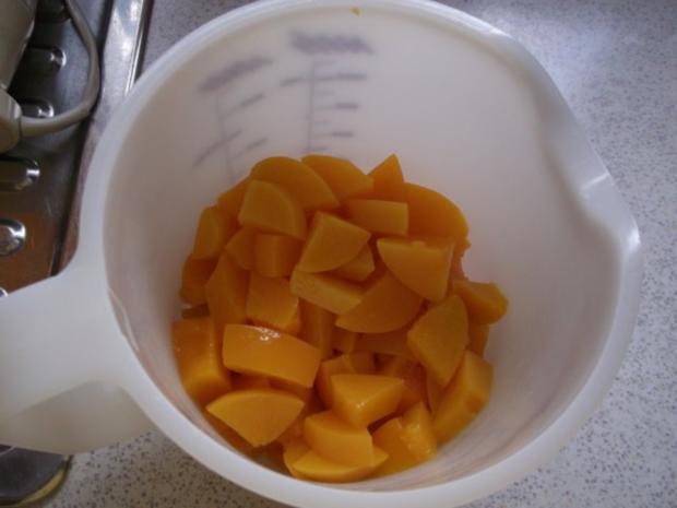 Pfirsich-Sekt-Dessert - Rezept - Bild Nr. 8