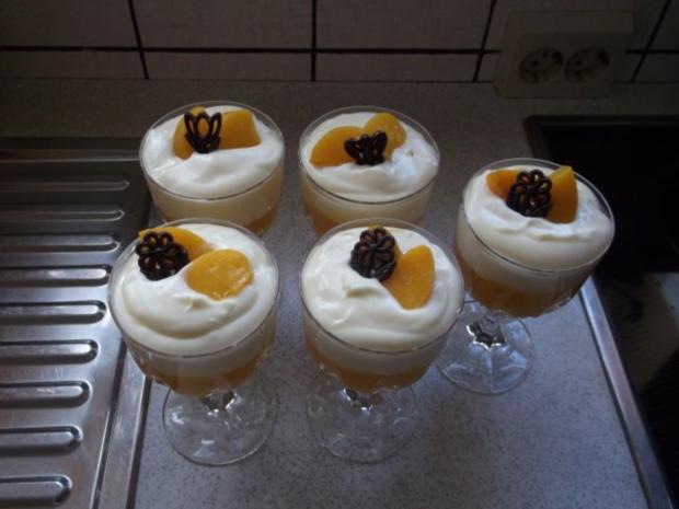 Pfirsich-Sekt-Dessert - Rezept - Bild Nr. 13
