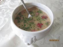 Kartoffel -Steinpilzsuppe - Rezept