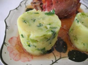 Rezept: Beilagen: Petersilien - Spargel - Kartoffelstampf