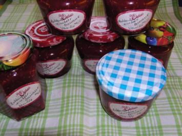 Rhabarber-Himbeer-Marmelade - Rezept