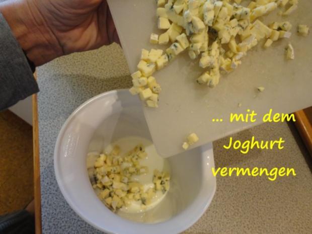 Blauschimmel-Joghurt Terrine - Rezept - Bild Nr. 5