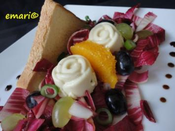 Rezept: Blauschimmel-Joghurt Terrine