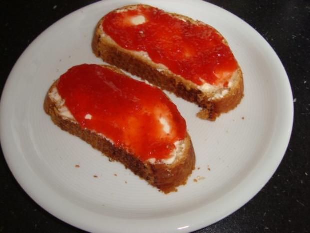 Erdbeer - Rhabarber - Marmelade - Rezept